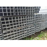 Quality Project Material Square Steel Pipe with grade Q235 Hot Rolled Black Iron for sale