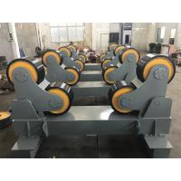 Quality 20T Pipe Welding Rollers To Iran Market With Motorized Moving Wheels for sale