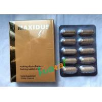 Wholesale Maxidus Herbale Sexual Pills Male Libido Sex Enhancer For Male Penis Enlarge from china suppliers