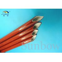 Quality 7 KV Heat Resistant Silicone Fiberglass Sleeving Electrical Eco - Friendly for sale