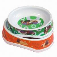 Wholesale Melamine pet bowls, OEM and ODM orders are welcome from china suppliers