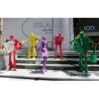 Buy cheap shopping mall sculpture,square sculpture from wholesalers