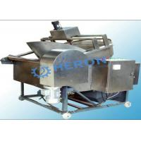 Wholesale Continuous Frying Line Stainless Steel Deep Fryer High Degree Automation from china suppliers