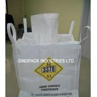 Wholesale Corner Loops UN Bulk Bags 2200lbs ASTM G 154-00 White 1000kgs from china suppliers