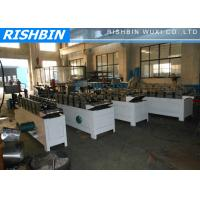 Wholesale Steel Strut Channel Roll Forming Machine 15 m / min with Mitsubishi PLC from china suppliers