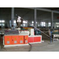 Wholesale High Efficiency Plastic Pipe Extrusion Machine / PVC Pipe Production Line from china suppliers