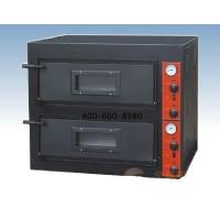 Wholesale Black Painting Electric Pizza Oven With 2-layer 2 Tray for West food Restaurant from china suppliers