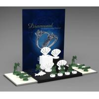 Wholesale Jewelry Showcase Display Set Acrylic Jewellery Stand for Necklace,Earring,Ring from china suppliers