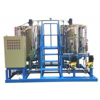 Wholesale Ammonia Chemical Dosing Skid , Dosing Chemicals Water Treatment With Metering Pumps from china suppliers