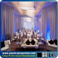 Wholesale Fancy round cage pipe and drape kits for events from china suppliers