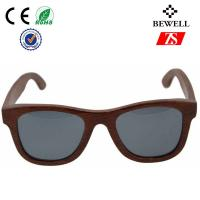 Wholesale FDA Handmade Unisex Wood Frame Sunglasses / Wooden Eyewear from china suppliers