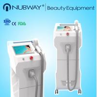 Quality beauty personal care safe fast water cooling system 808nm diode laser hair removal machine, CE certification for sale