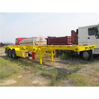 Wholesale three axles trucks and trailers skeletal container chassis for sale from china suppliers