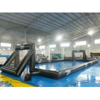 Buy cheap 0.55 mm PVC Tarpaulin Inflatable Outdoor Soccer Field For Event from wholesalers