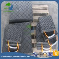 Quality Factory Price High Quality UHMWPE Crane Outrigger Pad Stabiliser Plate Uhmwpe Jack Mats for sale