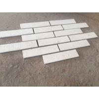 Wholesale M36400 White Color Clay Face Wall Brick Long Life Thin Brick Veneer ISO Approval from china suppliers
