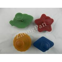 Wholesale OEM custom Silicone Rubber Ice cube moulds leaf star round shapes for  freezing ice cube from china suppliers
