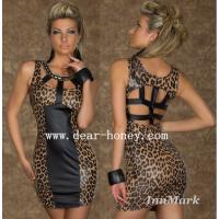 Wholesale Leopard Dress Clubwear Party Dresses MX-2427 from china suppliers