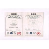 Tianjin Jiuwei Industrial Co.LTD Certifications