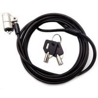 Wholesale 4 Digit Password Protection Combination Notebook / Laptop Cable Lock With Two Master Kyes from china suppliers