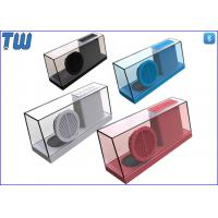 Wholesale New Concept Integrated Whole Body Transparent Acrylic Stereo Sound Speaker from china suppliers