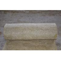 Wholesale Fireproof Rockwool Insulation Blanket With Wire Mesh Custom from china suppliers