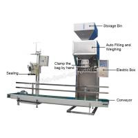 Wholesale Fish Feed Packaging Machine Weighing Range5-50kg Bagging Speed4-6bag/min  For large-scale production, it is economical from china suppliers