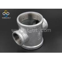Wholesale Made in china high quality hot galvanized malleable iron pipe fittings Reducing Crosses from china suppliers