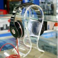 Wholesale Clear Acrylic Display Holders , 8mm thick headphone display holders from china suppliers
