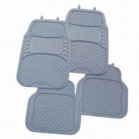Wholesale PVC Car Floor Mats, Non-slip Backing, Universal Fit, Eco-friendly, Customized Designs Welcomed from china suppliers