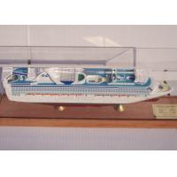 Wholesale OEM ODM Princess Cruise Ship Models With Injection Mold Making Anchor Material from china suppliers