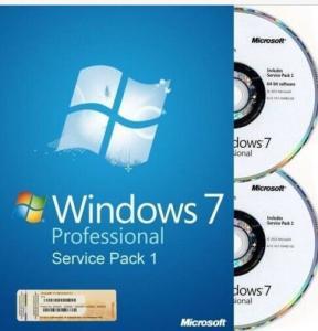 Wholesale 32 bit / 64 bit Windows 7 Pro Retail Box Windows 7 Home Premium with COA sticker from china suppliers