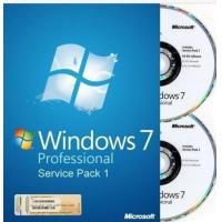 Wholesale 32 bit / 64 bit Windows 7 Pro Retail Box Windows 7 Home Premium with COA sticker from china suppliers