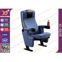 Wholesale Genuine Fabric Home Cinema Seating / Lecture Hall Chairs With Cast Iron Frame from china suppliers
