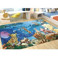 Wholesale 3D Digital Print Soft Area Carpet For Children's Playrooms Mildew Proof from china suppliers