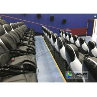 Wholesale Exciting 5D Cinema Equipment , 5D Luxury Motion Seats With Vibration Effect In Mall from china suppliers