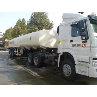 Buy cheap HOWO A7 WITH 42M3/42000 LITER FUEL/OIL TANKER TRAILER/ AIRPLANE OIL/ DIESEL TANKER TRUCK/GUEL TRANSPORTER from wholesalers