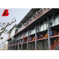 China Wind Blade TUV Electrostatic Painting Production Line By Air Exhaust System on sale