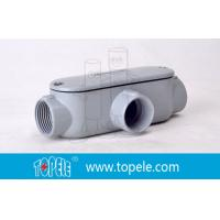 Wholesale Indoor / Outdoor T Type 4 Inch Rigid Conduit Body Threaded Aluminum from china suppliers