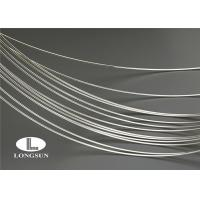 Wholesale ISO9001 Silver Alloy Wire High Electrical Conductivity For Electrical Contacts from china suppliers