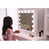 12pcs Led BULB Hollywood Vanity Mirror With Lights 500x700mm , Led Magnifying Makeup Mirror