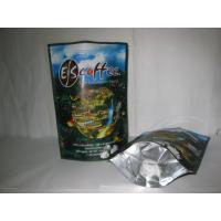 Wholesale Coffee Ziplock Foil Packaging Bags Printing Stand Up Glossy Finish from china suppliers
