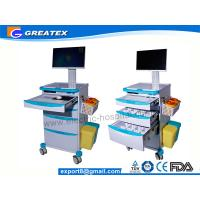 Wholesale CE FDA Hospital Medical Cart , Medical Trolley , Medical Laptop Cart  (GT-QNT6201) from china suppliers