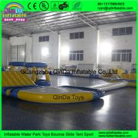 Quality Inflatable Floating Water Park Equipment, Giant Inflatable Water Games for Adult, Harrison Inflatable Water Park for sale