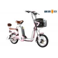 Wholesale 250w Adult City Electric Bicycle , Double Seat Electric Scooter With Footrest from china suppliers