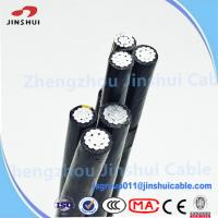 Wholesale Low Voltage XLPE Insulated Service Drop Cable Duplex Bull Messenger Wire from china suppliers