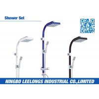 Wholesale Hotel SPA ALU Rainfall Shower Bathroom Columns Complete Shower Kits from china suppliers