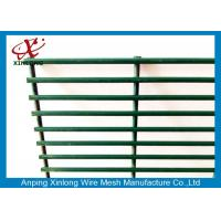 Wholesale Dark Green Custom Security Fence , Residential Security Fencing Eco Friendly from china suppliers