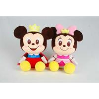 Mickey and Minnie Disney Plush Toys With Foam Particle Material / Nanoparticles