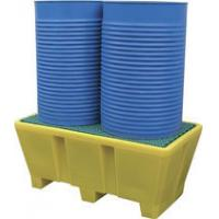 Wholesale rotational moulding 2 Drum spill pallet from china suppliers